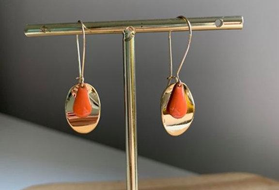 Petite Colette mandarine