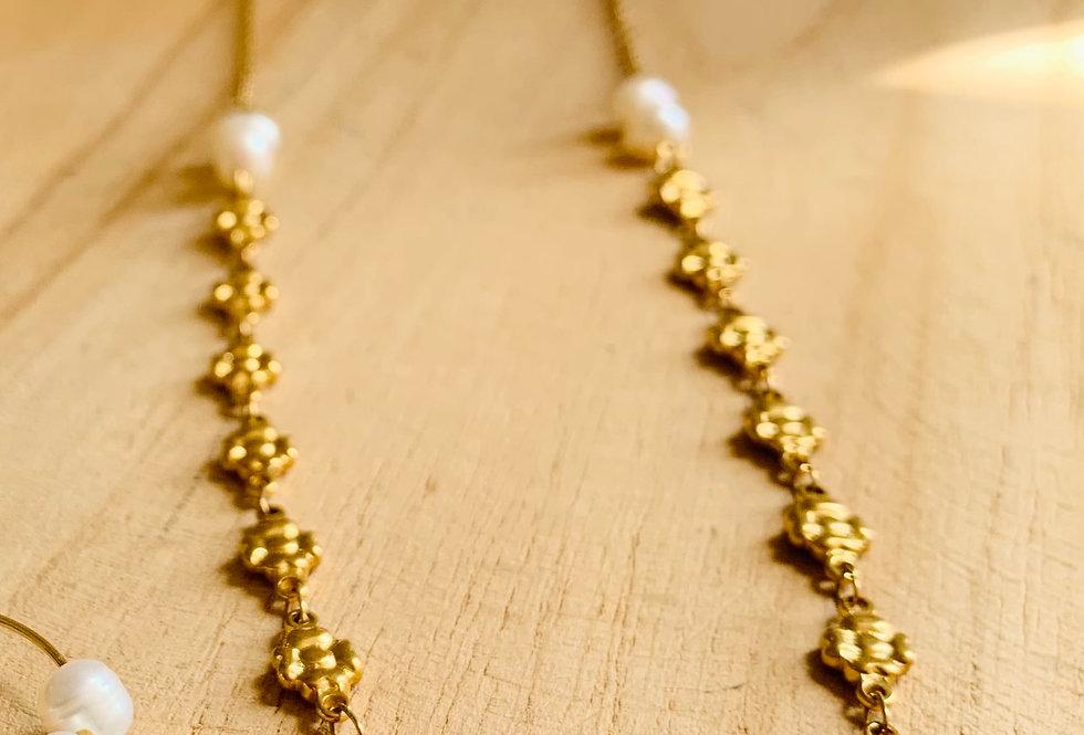 Collier perles Lucette