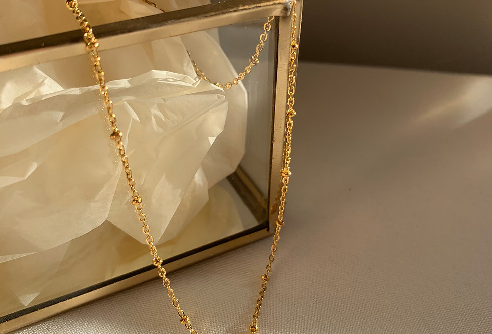 Collier Florette blanc