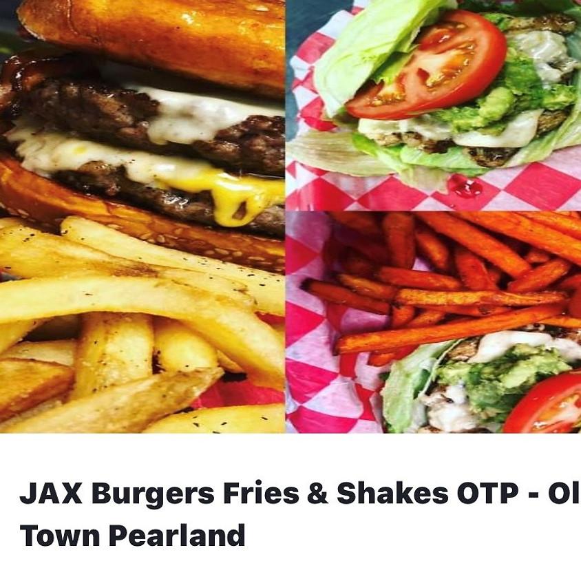 JAX Burgers - Meal Time Mondays