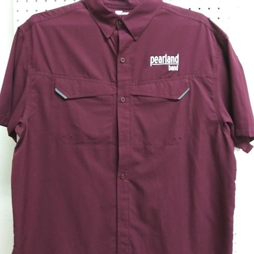LADIES Maroon Fishing shirt