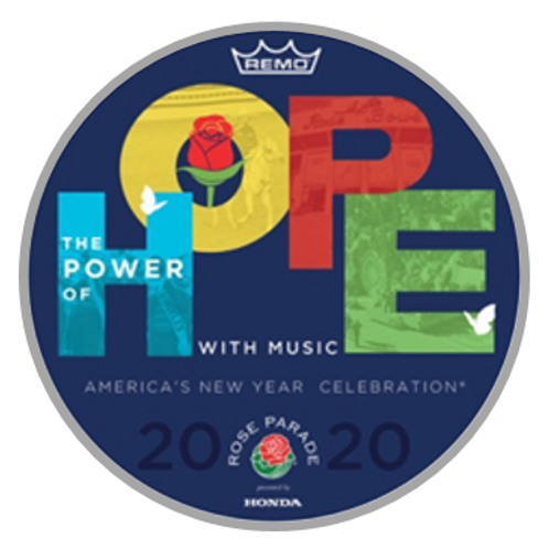 2020 Rose Parade® Replica Souvenir Drumhead