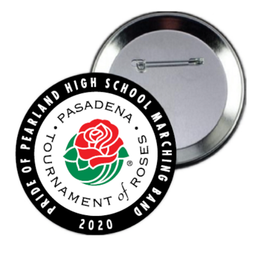 Pearland Band Rose Parade® 3-inch Button