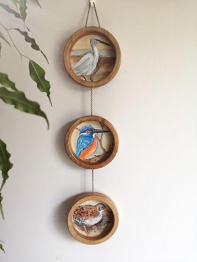 oiseaux peinture celia taillandier