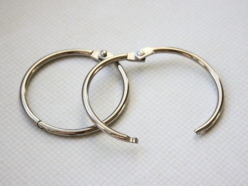 Кольца разъемные никелированные