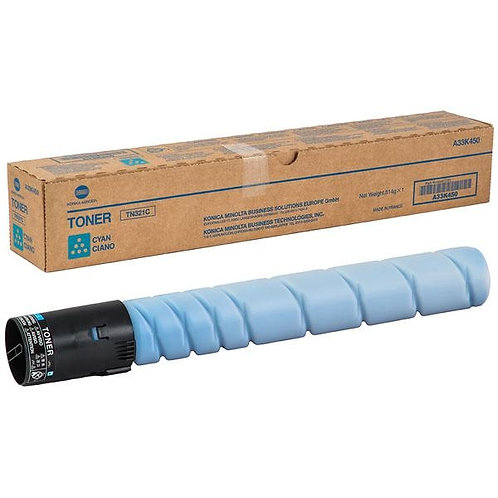 Тонер голубой Konica Minolta TN-321C