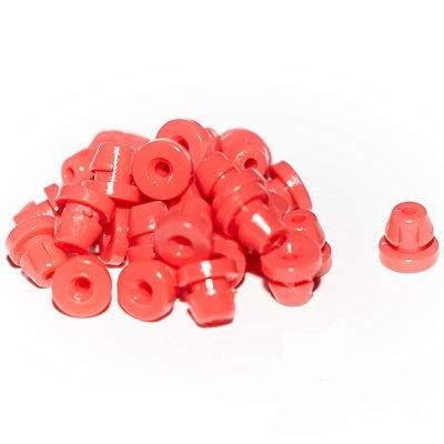 "Резинки на штангу grommets, nipples ""Durable Nipples-Hard Red"" 50 шт."