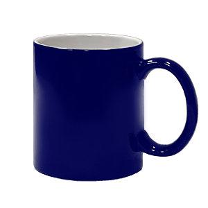 Кружка-хамелеон стандарт синяя