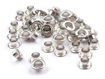 Люверсы серебро d 5,5 мм (1кг.)