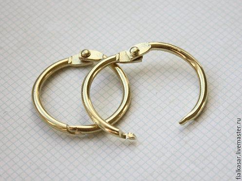 Кольца разъемные золотые