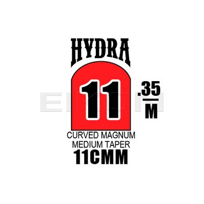 "Иглы Hydra магнумы ""Hydra Curved Magnum Medium Taper 11"""