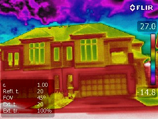 How is Thermal Imaging used in a Home Inspection?