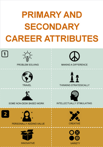 Primary and Secondary Career Attributes