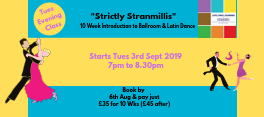 New 10 Week Beginners Ballroom & Latin Courses announced for South Belfast