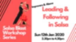 Salsa Blast Series - Leading & Following