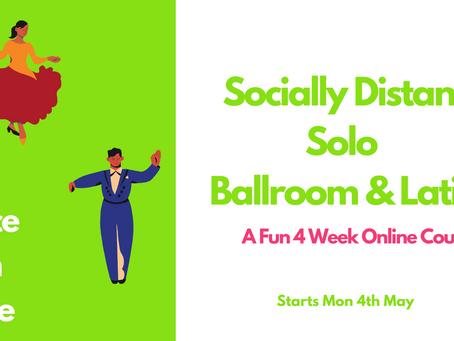 Socially Distant Ballroom & Latin Dance Classes #dancefromhome