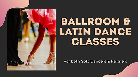 Ballroom & Latin Dance Classes with Adel