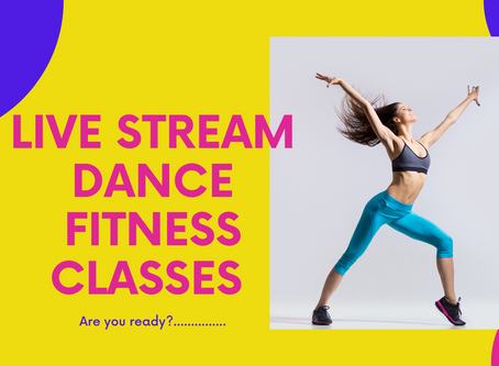 LIVE STREAM DANCE FITNESS CLASSES