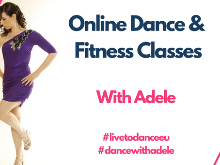 New 4 Week online dance courses for May 2020