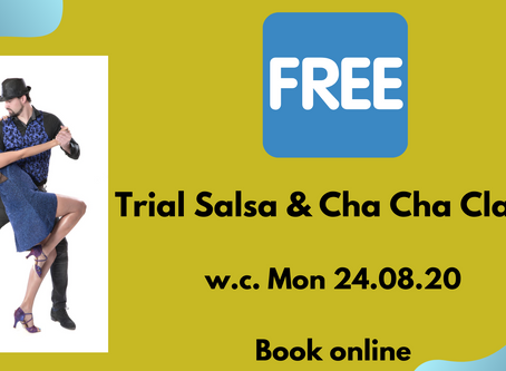 FREE Trials of Salsa & Cha Cha Classes