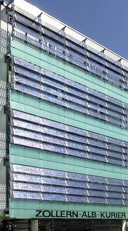 Zollern Alb Kurier 01 - photovoltaic louvers.jpg