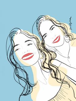 Blanca y Natalia