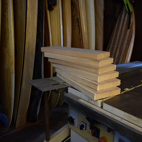 "Paulownia ""shorts"" for body surfing hand planes"