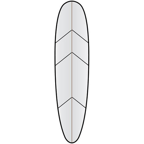 Versatraction for Longboard up to 9'