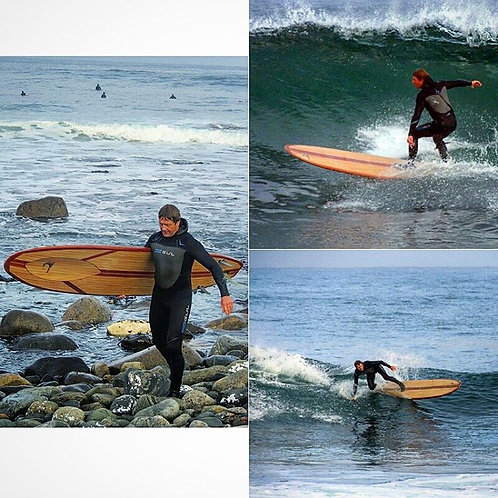 "9'6"" Robert August ""What I Ride"", FREE Global Shipping"
