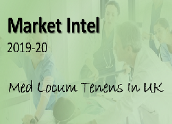 Locum Tenens - Competitive Intelligence for UK Market 2019-2020