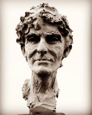 Retrato _ El Pimpo__#sculptureart_#sculp