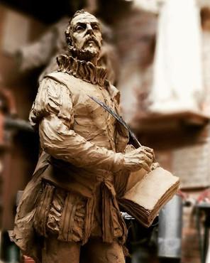 D. Miguel de Cervantes. Modelado en arci