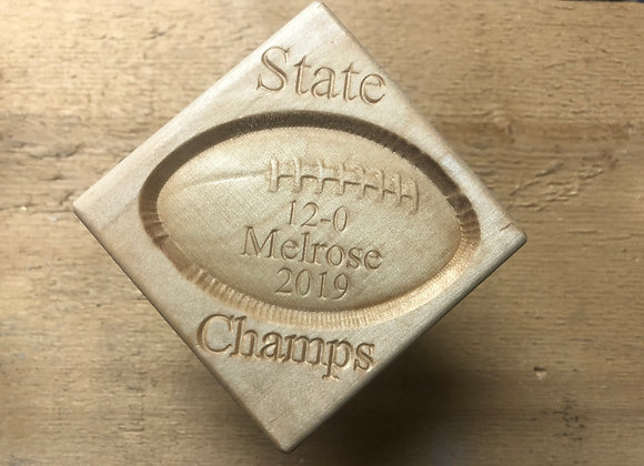 Classic Melrose High School State Champs Ornament
