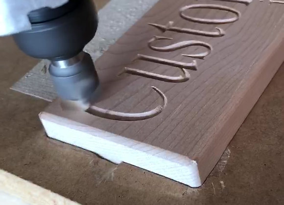Custom Carved Signs