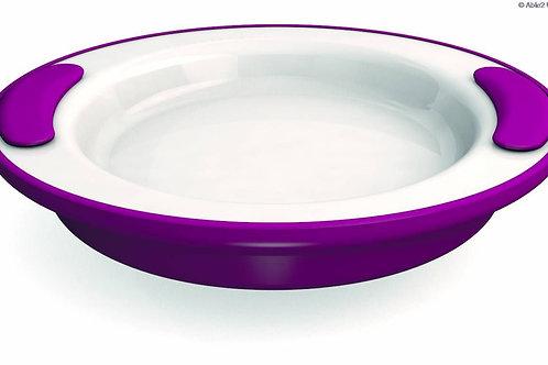Ornamin Keep Warm Plate - 25.5cm - Blue/White