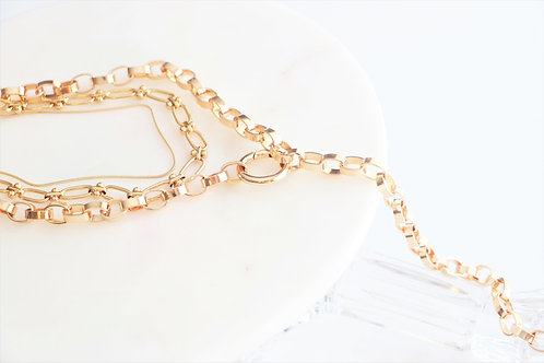Chunky Chain Necklace Set