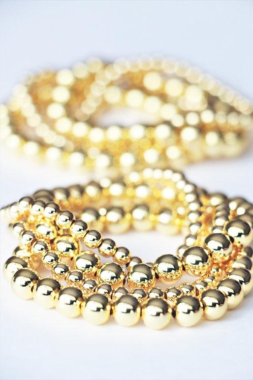 Gold Ball Bracelets