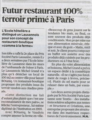 articles 24heures BOtaniq 27.10.2011.jpg