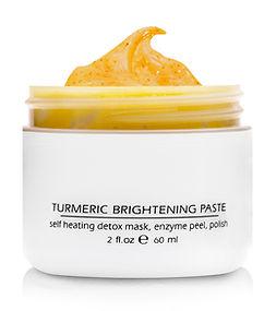 159-2 Tumeric Brightening Paste Open Lid