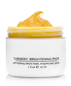 159-2 Tumeric Brightening Paste Open Lid