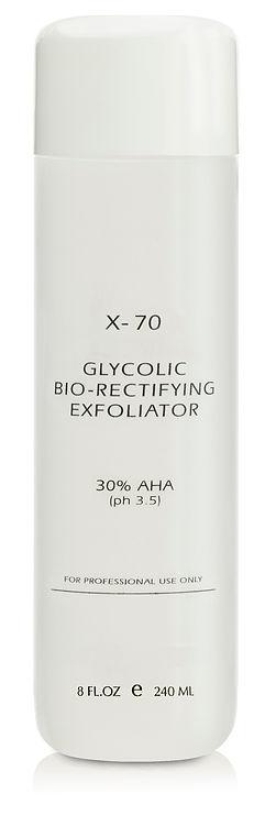 G-331-6 Glycolic Bio-Rectifying Exfoliator X-70 NEW BOTTLE Final copy.jpg