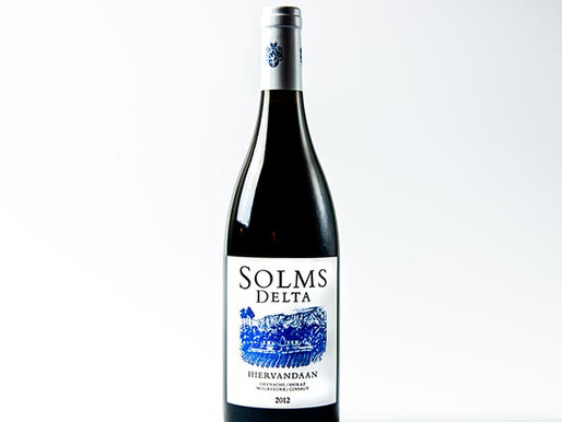 Hiervandaan Solms Delta, Mourvedre, 2012, WO Western Cape, South Africa