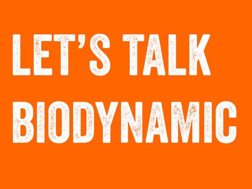 Let's talk biodynamic wine