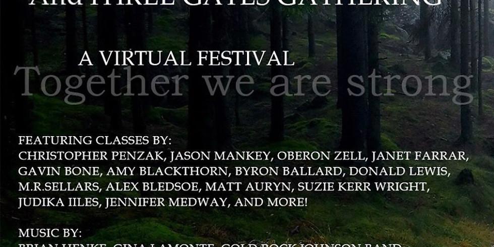 Pagan Unity Festival & Three Gates Gathering Online