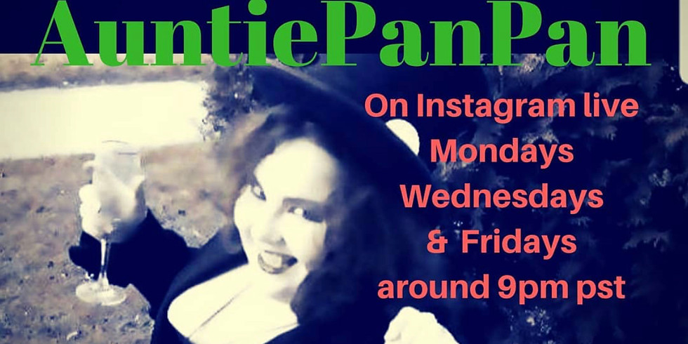 Auntie Pan Pan on IG LIVE