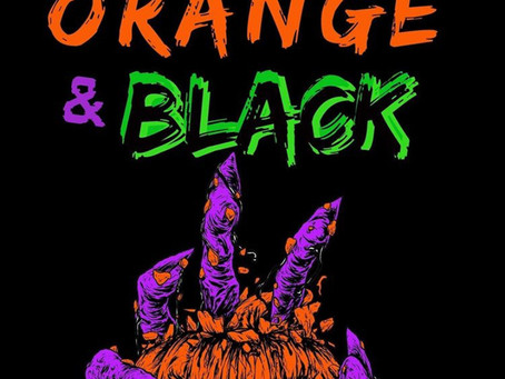 We Bleed Orange & Black by Jeff C. Carter