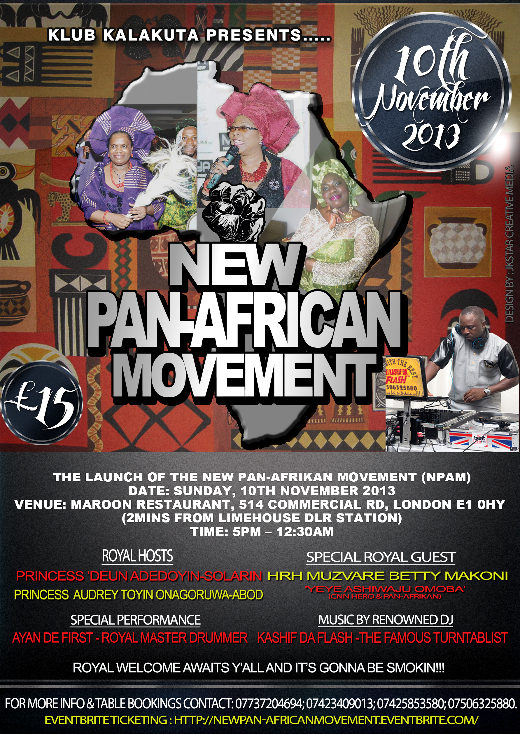 NEW PAN-AFRICAN MOVEMENT