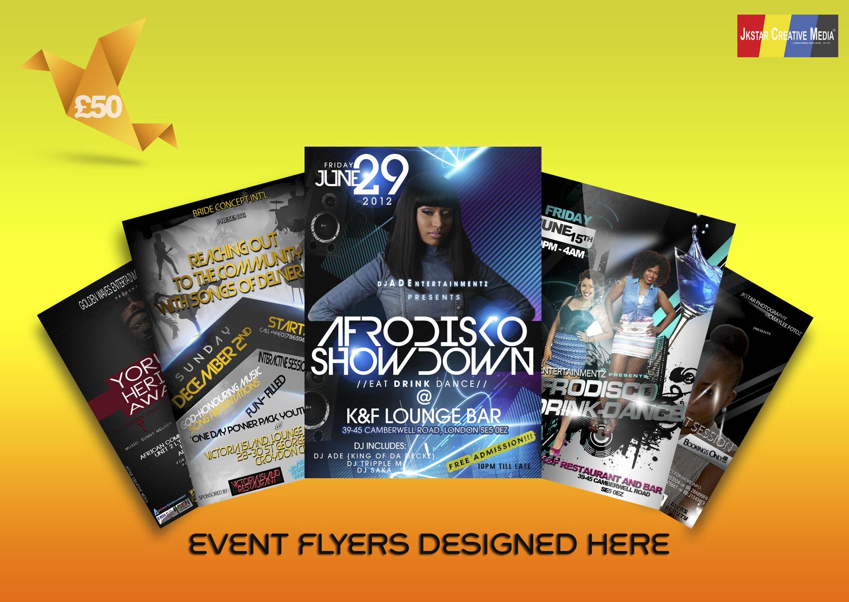 Exclusive Flyer Design