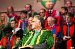 Pro-chancellor David Gray