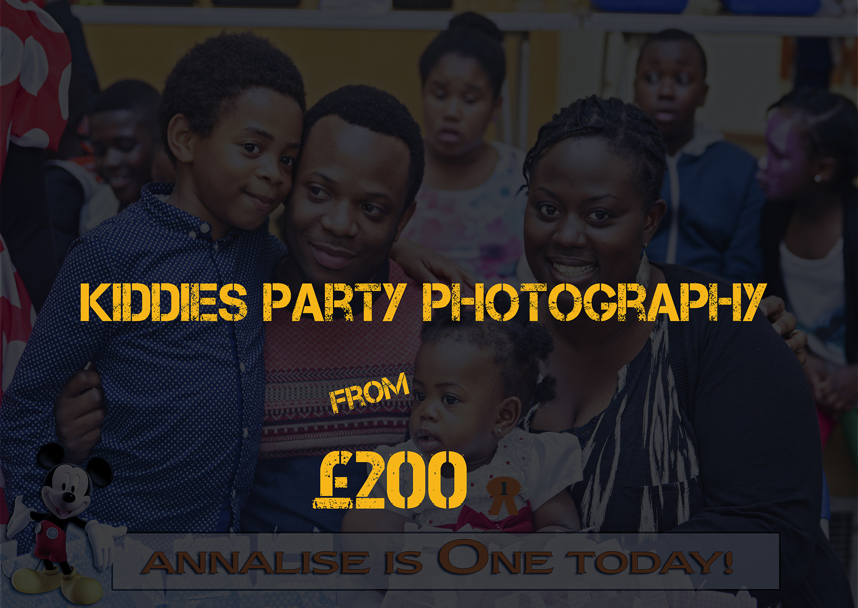 Kiddies Party Photography